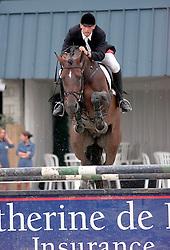 Vrins Nick (BEL) - Nagano<br /> Kampioenschap Jonge Paarden Gesves 2000<br /> Photo © Dirk Caremans