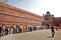 NEW DELHI -   Rode Fort in New Delhi.