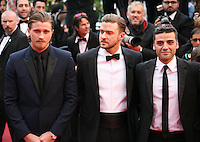 Garrett Hedlund, Justin Timberlake, Oscar Isaac,.at the The Coen brother's new film 'Inside Llewyn Davis' red carpet gala screening at the Cannes Film Festival Sunday 19th May 2013