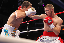 September 1, 2012; Verona, NY; HBO Boxing After Dark bout between Gennady Golovkin and Grzegorz Proksa at the Turning Stone Casino in Verona, NY.  All Photos Copyright Ed Mulholland/HBO **HBO Usage Only**