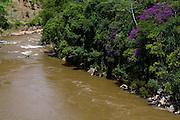 Ibitirama_ES, Brasil...Rio Preto em Ibitirama...Preto river in Ibitirama...Foto: LEO DRUMOND / NITRO