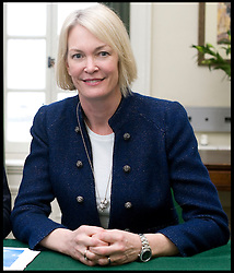 Leader of the Conservative Party David Cameron with Margot James, Member of Parliament for Stourbridge in his office in Norman Shaw South, January 7, 2010. Photo By Andrew Parsons / i-Images.