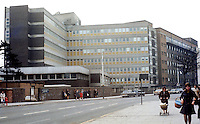 Royal Victoria Hospital, Falls Road, Belfast, N Ireland, UK, May, 1972, 197205000277<br />