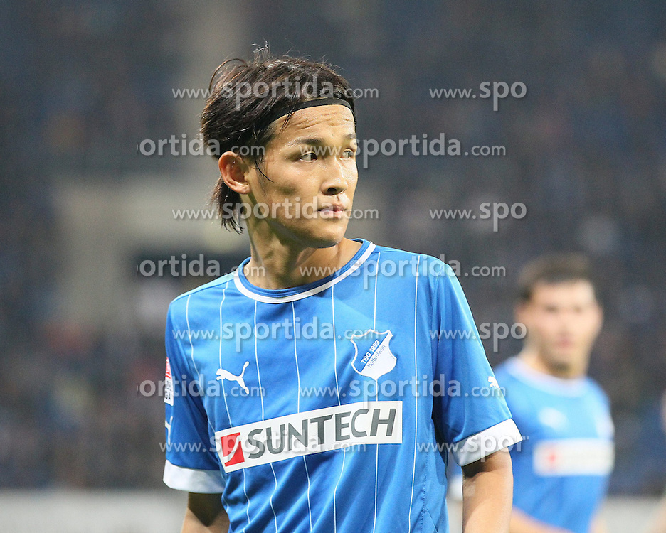 19.10.2012, Rhein Neckar Arena, Sinsheim, GER, 1. FBL, TSG 1899 Hoffenheim vs SpVgg Greuther Fuerth, 08. Runde, im Bild Takashi USAMI (TSG 1899 Hoffenheim)/ Portrait/ Portraet / Freisteller // during the German Bundesliga 08th round match between TSG 1899 Hoffenheim and SpVgg Greuther Fuerth at the Rhein Neckar Arena, Sinsheim, Germany on 2012/10/19. EXPA Pictures © 2012, PhotoCredit: EXPA/ Eibner/ Ehrmann..***** ATTENTION - OUT OF GER *****