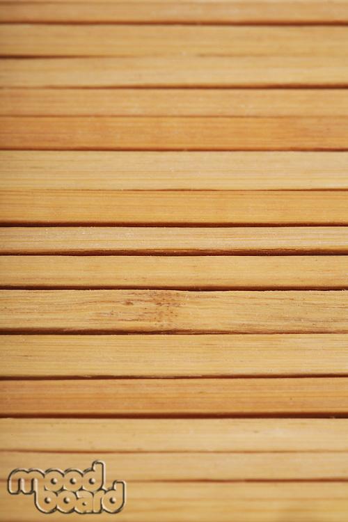 Wooden mat close-up - texture