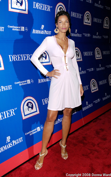 Model Nicole Murphy poses at the Gala Pairings Party to benefit Children?s Rights and Keep A Child Alive at Tao Restaurant in New York City, USA on June 25, 2008.