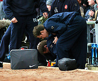 ARSENAL V MANCHESTER UNITED 03/04/04 VILLA PARK BIRMINGHAM FA CUP SEMI FINAL<br />