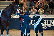 Laura Graves - Verdades second in the World Cup Final<br /> FEI World Cup Final Gothenburg 2019<br /> © DigiShots