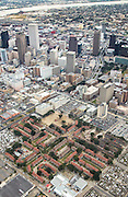 aerial view of Iberville Housing Development