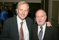 Peter Jamieson, Executive Chairman BPI and Harvey Goldsmith CBE