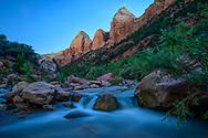 North America, American, USA, Utah, Zion National Park, Virgin river