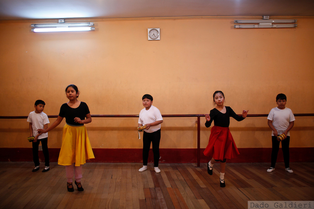 at the National School of Ballet in La Paz, Bolivia, Tuesday, July 13, 2010. (Photo Dado Galdieri)