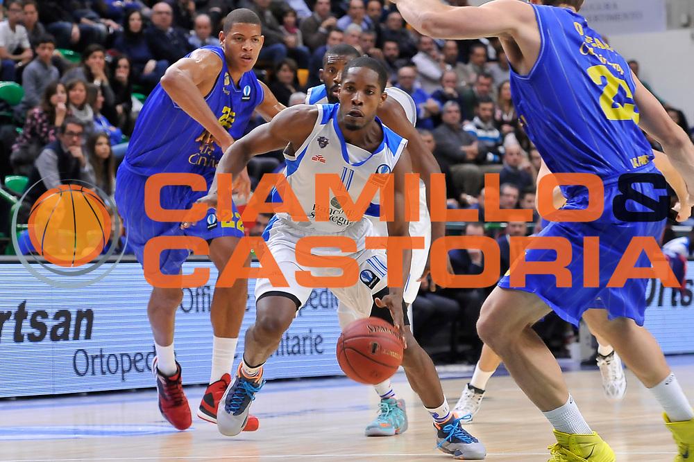 DESCRIZIONE : Eurocup 2014/15 Last 32 Gruppo H Dinamo Banco di Sardegna Sassari - Herbalife Gran Canaria Las Palmas<br /> GIOCATORE : Jerome Dyson<br /> CATEGORIA : Palleggio Penetrazione<br /> SQUADRA : Dinamo Banco di Sardegna Sassari<br /> EVENTO : Eurocup 2014/2015<br /> GARA : Dinamo Banco di Sardegna Sassari - Herbalife Gran Canaria Las Palmas<br /> DATA : 07/01/2015<br /> SPORT : Pallacanestro <br /> AUTORE : Agenzia Ciamillo-Castoria / Luigi Canu<br /> Galleria : Eurocup 2014/2015<br /> Fotonotizia : Eurocup 2014/15 Last 32 Gruppo H Dinamo Banco di Sardegna Sassari - Herbalife Gran Canaria Las Palmas<br /> Predefinita :
