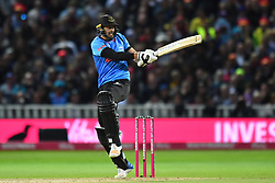 Sussex Sharks' David Wiese bats during the Vitality T20 Blast Final on Finals Day at Edgbaston, Birmingham.