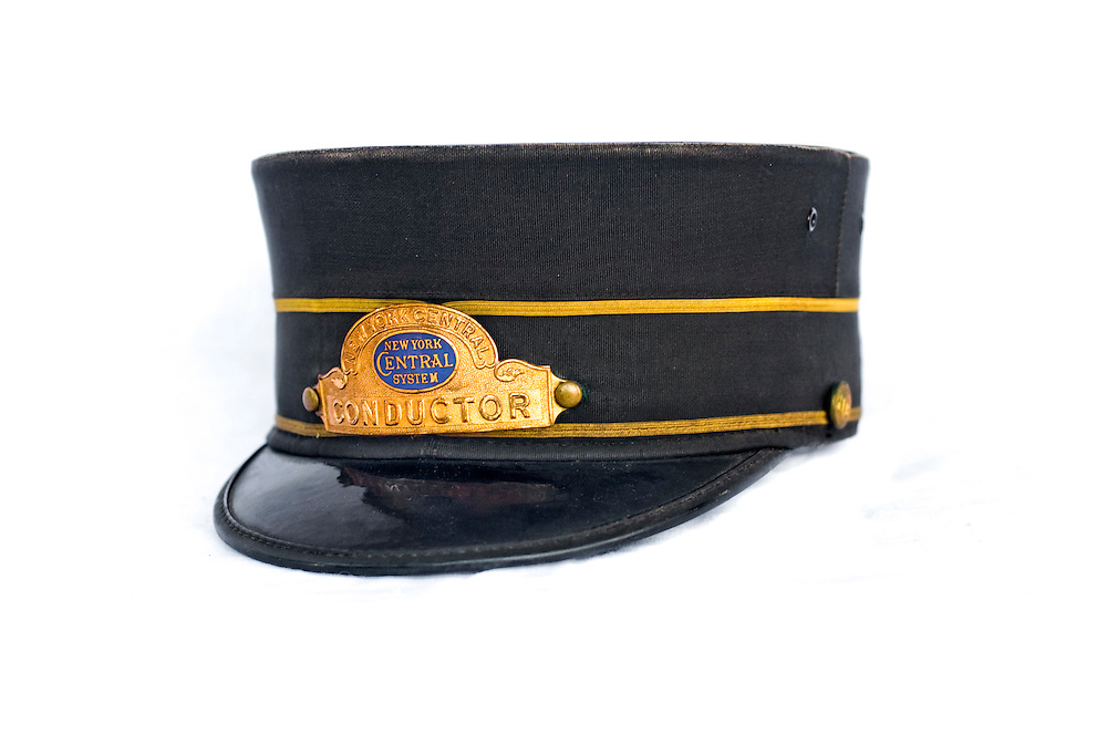 NYC Conductor hat - not for sale..The Unclaimed Baggage Center is a retail store located in Scottsboro in Jackson County, Alabama. The store's concept is the reselling of lost or unclaimed airline luggage. Over a million customers visit the 50,000-square-foot (4,600 m2) store each year to browse through some of the 7,000 items added each day.