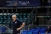 Sacchetti Romeo<br /> Nazionale Senior maschile<br /> Allenamento<br /> World Qualifying Round 2019<br /> Bologna 13/09/2018<br /> Foto  Ciamillo-Castoria / M. Longo