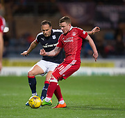 Dundee&rsquo;s Tom Hateley and Aberdeen&rsquo;s Jonathan Hayes - Dundee v Aberdeen in the Ladbrokes Scottish Premiership at Dens Park, Dundee. Photo: David Young<br /> <br />  - &copy; David Young - www.davidyoungphoto.co.uk - email: davidyoungphoto@gmail.com