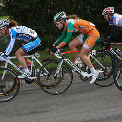 Ronde van Gelderland 2012 Laura van der Kamp, Natalie van Gogh