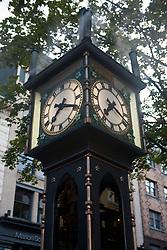 Gastown Steam Clock, Gastown, Vancouver, British Columbia, Canada