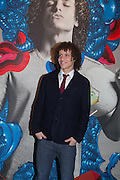 DAVID LUIZ, Steve Lazarides and Pepsi host a collaboration of Street Art, Photography and Football. Photos of footballers by Danny Clinch, paintings by 6 'leading street artists' Victoria House, Southampton Row. London. 17 February 2014.
