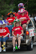 Two Rivers Fish Derby parade July 16, 2016. Photos by Mike Roemer