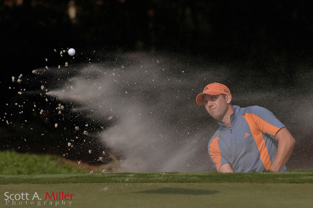 Sergio Garcia during the 2007 Players Championship at TPC Sawgras on May 10, 2007 in Ponde Vedra Beach, Florida...©2007 Scott A. Miller