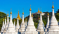 Sandamuni Pagoda temple at Mandalay city in Myanmar (Burma)
