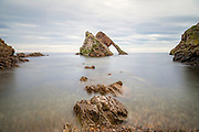 Bow Fiddle Rock, Portknockie, Moray, Scotland, United Kingdom