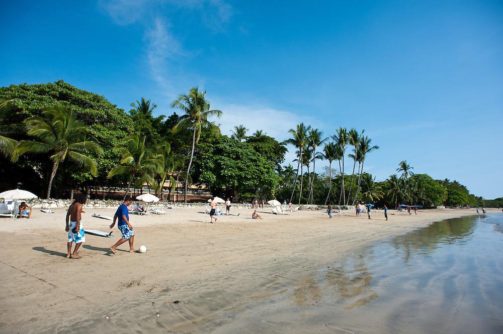 Soccer on Playa Tamarindo