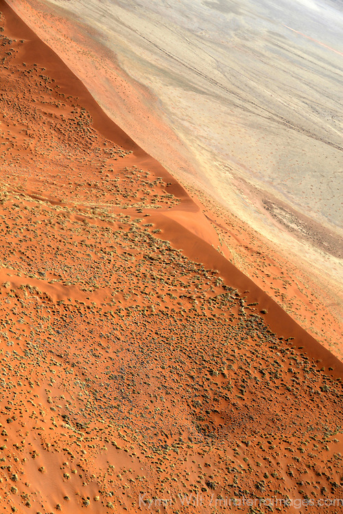 Africa, Namibia, Sossusvlei. Landscape of Sossusvlei and the Namib.