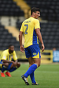 Accrington Stanley defender Matty Pearson (2) during the EFL Sky Bet League 2 match between Notts County and Accrington Stanley at Meadow Lane, Nottingham, England on 10 September 2016. Photo by Jon Hobley.