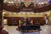 Vietnam, Hue, Interior of the Imperial Hotel Reception