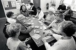 Edwards Lane Community Centre bingo, Nottingham UK 1989
