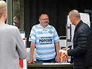 """FODBOLD: Lars """"Popcorn"""" Hansen under kampen i ALKA Superligaen mellem FC Helsingør og Randers FC den 26. august 2017 på Helsingør Stadion. Foto: Claus Birch"""