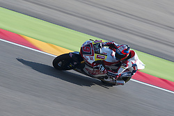 September 23, 2017 - AlcañIz, Teruel, Spain - 9 Jorge Navarro (Spa) Federal Oil Gresini Moto2 Kalex in the free practice of the Gran Premio Movistar de Aragon, Circuit of Motorland, Alcañiz, Spain. Saturday, 23rd september, 2017. (Credit Image: © Jose Breton/NurPhoto via ZUMA Press)