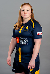 Laura Keates during the Worcester Warriors Women Media Day - Ryan Hiscott/JMP - 28/09/2019 - SPORT - Sixways Stadium - Worcester, England - Worcester Warriors Women Media Day