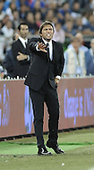 Head coach of Italy Antonio Conte during the International Friendly match at Stadio San Nicola, Bari<br /> Picture by Stefano Gnech/Focus Images Ltd +39 333 1641678<br /> 04/09/2014