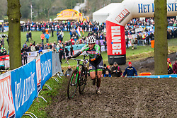 Sophie de Boer (NED), Women, Cyclo-cross World Cup Hoogerheide, The Netherlands, 25 January 2015, Photo by Thomas van Bracht / PelotonPhotos.com