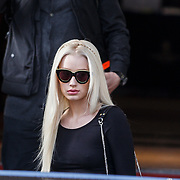 NLD/Amsterdam/20131109 - Iggy Azalea leaving the hotel for the MTV EMA 2013