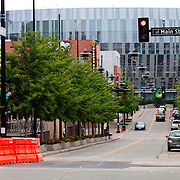 Downtown Kansas City, Missouri, 14th and Main Street.