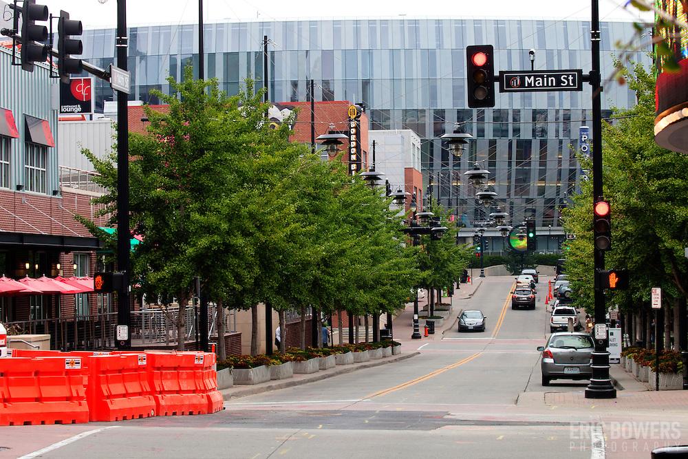Downtown Kansas City, Missouri, 14th and Main Street.