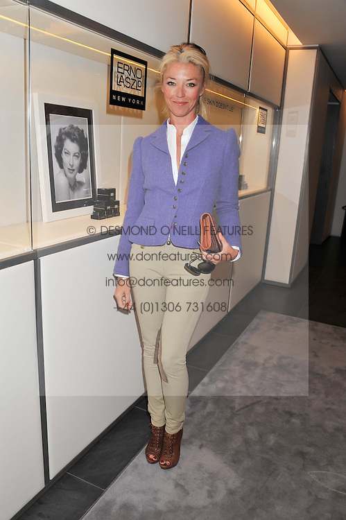 TAMARA BECKWITH at a lunch hosted by Harrods' and Erno Laszlo to celebrate the launch of the Erno Laszlo Hollywood Collection held in The Penthouse, Harrods, Knightsbridge, London on 25th April 2012.