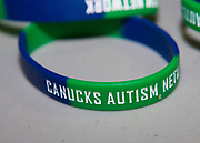 KELOWNA, CANADA - NOVEMBER 11:  Canucks Autism Network at the Kelowna Rockets game on November 11, 2017 at Prospera Place in Kelowna, British Columbia, Canada.  (Photo By Cindy Rogers/Nyasa Photography,  *** Local Caption ***