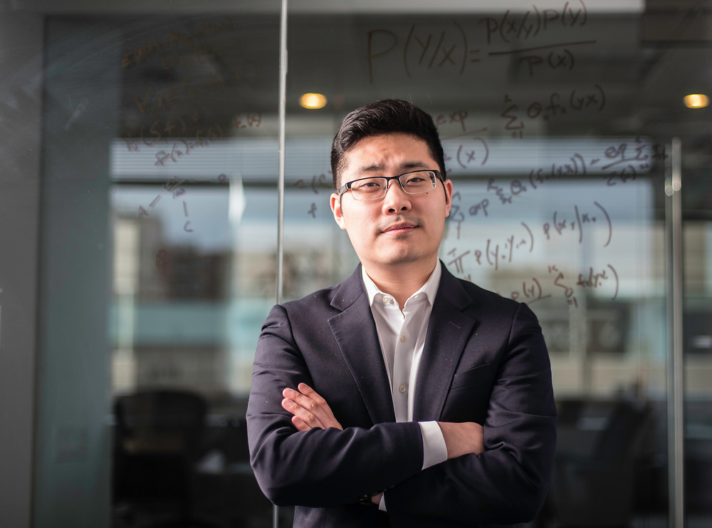 WASHINGTON, DC -- 12/6/17 -- Tim Hwang is the founder and CEO of FiscalNote which uses AI, analytics and natural language processing to automate and analyze government tasks and data…by André Chung #_AC16253