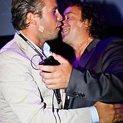 NLD/Amsterdam/20100701 - Presentatie nieuwe Samsung telefoon Galaxy S, Winston Gerschtanowitz en Marco Borsato