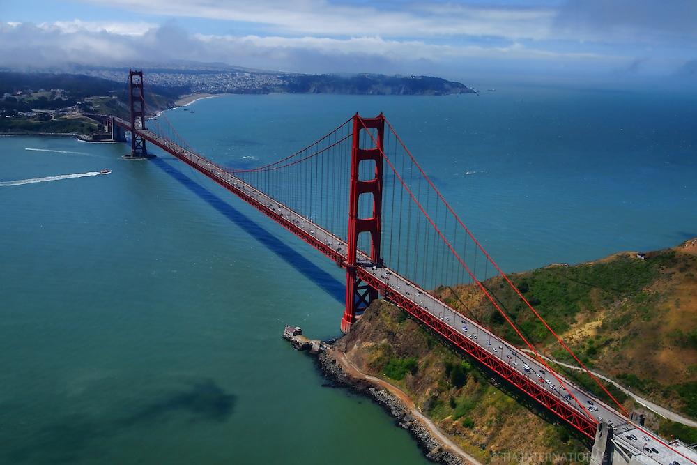 The Golden Gate Bridge (Aerial)