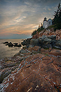 Bass Harbor Head Light, Acadia National Park, Mount Desert Island, Maine