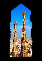 07/2001 - Barcelona, Espanha  - Paisagnes e detalhes arquitetônicos de Veneza. Foto: Daniel Deák