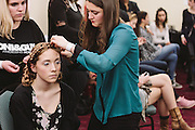 PROVIDENCE, RI - FEB 13: Madison Peck backstage prior to the Jess Abernethy show as part of StyleWeek NorthEast on February 13, 2015 in Providence, Rhode Island. (Photo by Cat Laine)