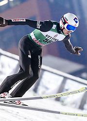 February 8, 2019 - Lahti, Finland - Kamil Stoch competes during FIS Ski Jumping World Cup Large Hill Individual Qualification at Lahti Ski Games in Lahti, Finland on 8 February 2019. (Credit Image: © Antti Yrjonen/NurPhoto via ZUMA Press)